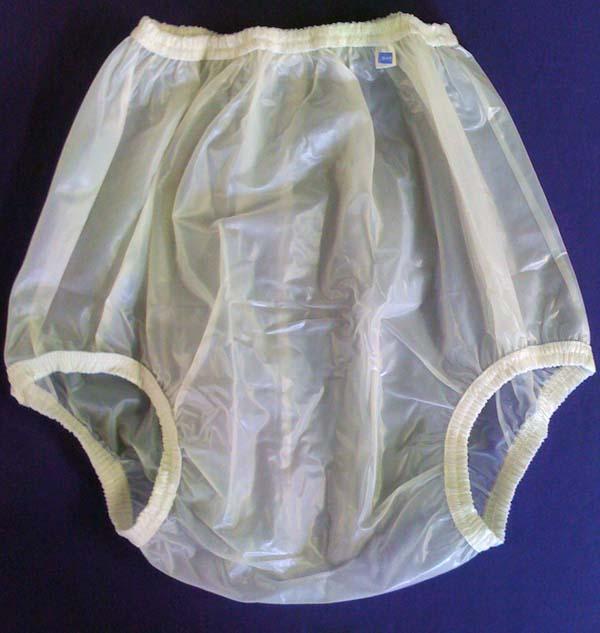 Afdc Whisper Enclosed Elastic Adult Plastic Pants Angel